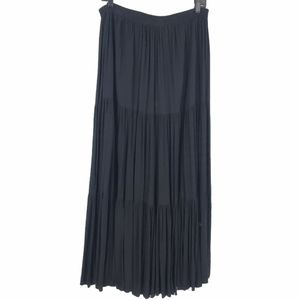 Western Tiered Maxi Skirt